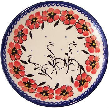 Boleslawiec Polish Pottery UNIKAT Breakfast, Salad or Dessert Plate