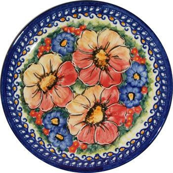 Boleslawiec Polish Pottery UNIKAT Breakfast, Dessert or Salad Plate