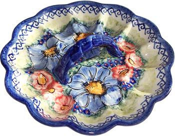 Polish Pottery Egg PlateIsabelle