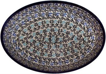 Polish Pottery Medium Oval BakerMartina