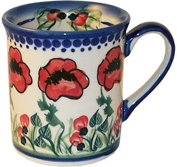 Boleslawiec Polish Pottery UNIKAT Coffee Cup or Tea Mug