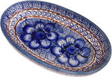 Small Oval Baking DishBlue Garden