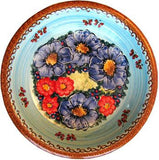 Polish Pottery Soup or Pasta PlateBlue Sky Meadow