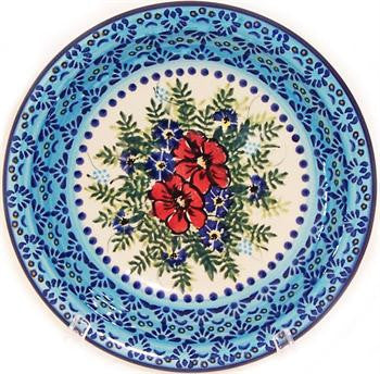 Polish Pottery Soup or Pasta PlateVeronica