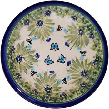 Polish Pottery Soup or Pasta PlateSerenity