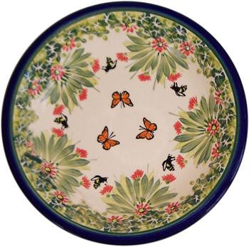 Polish Pottery Soup or Pasta PlateSpring