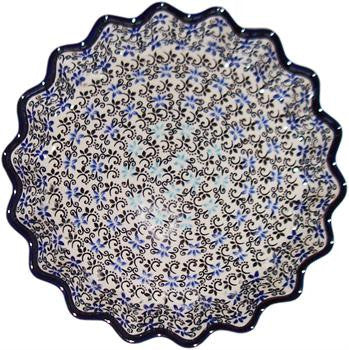 Polish Pottery Pie ir Quiche BakerMartina