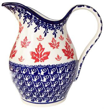 Boleslawiec Polish Pottery UNIKAT Water Jug 1.7 L Pitcher