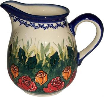 Boleslawiec Polish Pottery UNIKAT 2L Pitcher Water or Milk Jug