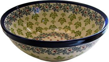 Polish Pottery 9.5 Serving or Mixing BowlVermont