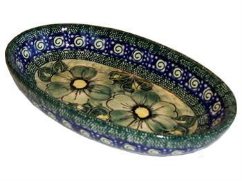 Small Oval Baking DishGreen Garden