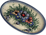 Small Oval Baking DishWild Field