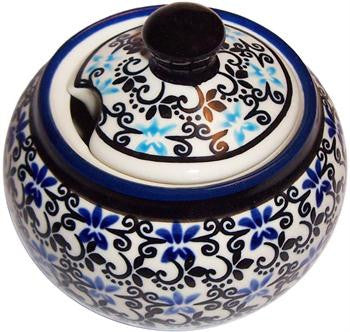 Polish Pottery Sugar BowlMartina