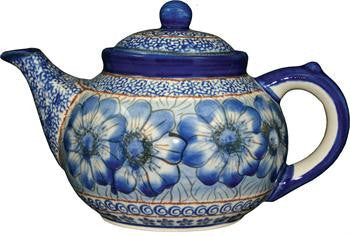 Boleslawiec Stoneware Polish Pottery UNIKAT Teapot or Coffee Pot