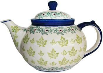 Polish Pottery Tea PotVermont