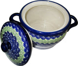 "Boleslawiec Polish Pottery UNIKAT Baker Bean Pot ""Alex"""