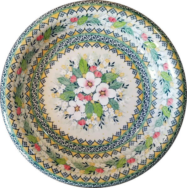 Boleslawiec Polish Pottery UNIKAT Large Serving Bowl 4812