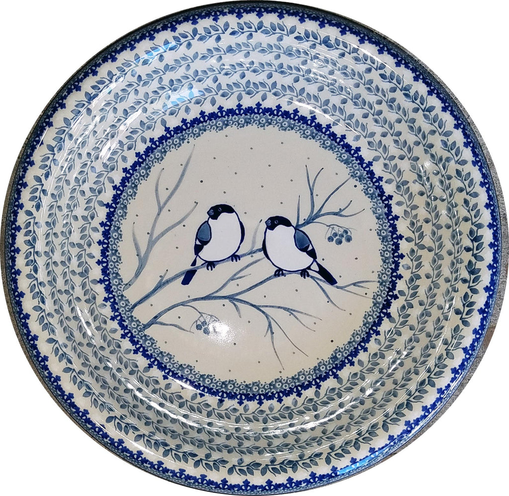 Boleslawiec Polish Pottery UNIKAT Large Serving Bowl 4830