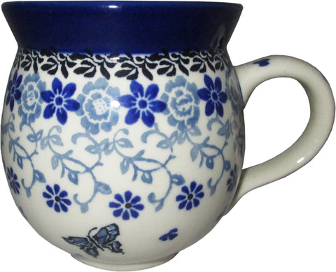 Boleslawiec Polish Pottery 12 oz Coffee or Tea Bubble Mug 1941