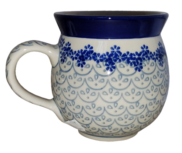 Boleslawiec Polish Pottery 10 oz Coffee or Tea Bubble Mug 577