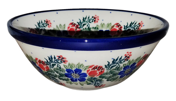 Boleslawiec Polish Pottery UNIKAT Cereal Bowl 1535