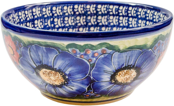 "Boleslawiec Polish Pottery UNIKAT Cereal or Chili Serving Bowl ""Isabelle"""
