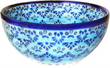 "Boleslawiec Polish Pottery UNIKAT Cereal or Chili Serving Bowl ""Veronica"""