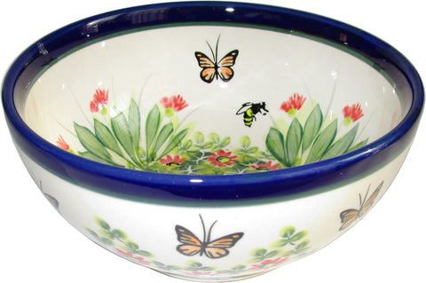Boleslawiec Polish Pottery UNIKAT Cereal, Chili or Serving Bowl