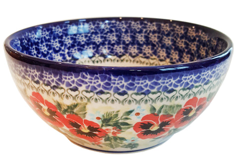 Boleslawiec Polish Pottery UNIKAT Cereal bowl Chili Bowl