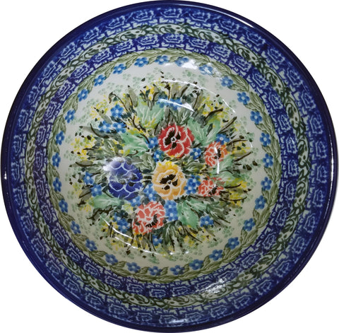 Boleslawiec Polish Pottery UNIKAT Cereal Bowl 3169