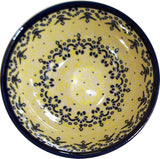 "Boleslawiec Polish Pottery UNIKAT UNIKAT Cereal or Chilli Bowl ""Lace"""