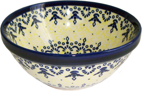 Boleslawiec Polish Pottery UNIKAT UNIKAT Cereal or Chilli Bowl