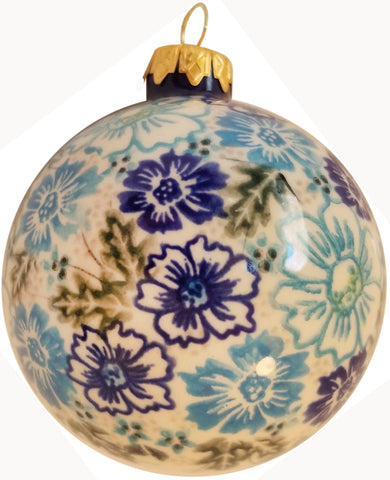 Boleslawiec Polish Pottery UNIKAT Christmas Ornament