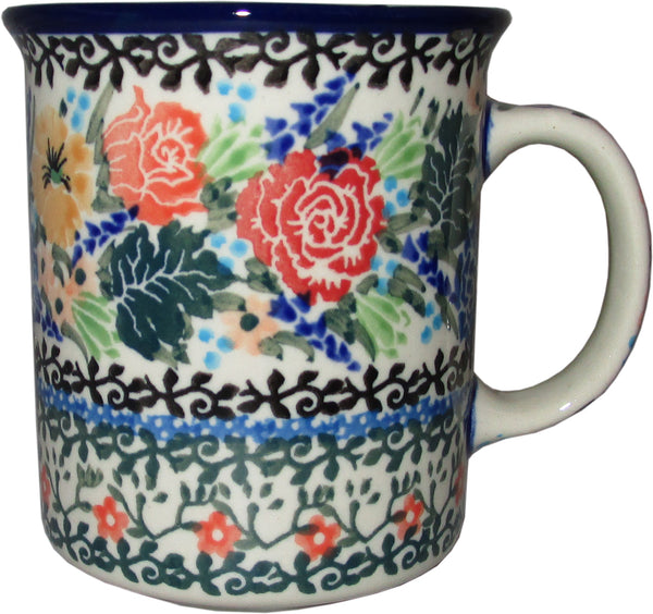 Boleslawiec Polish Pottery Unikat Coffee or Tea Mug nr.CA2877