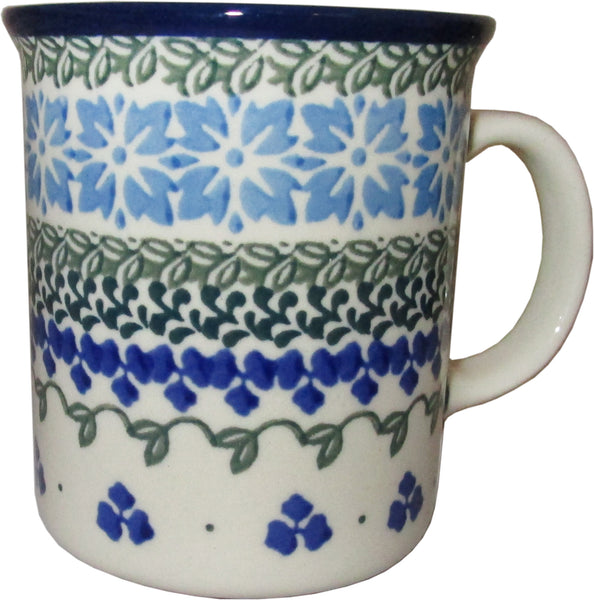 Boleslawiec Polish Pottery 10 oz Coffee or Tea Mug 885