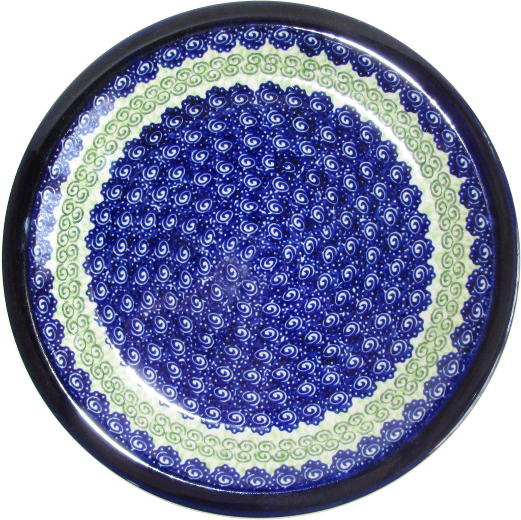 "Boleslawiec Polish Pottery UNIKAT Soup or Pasta Plate ""Alex"""