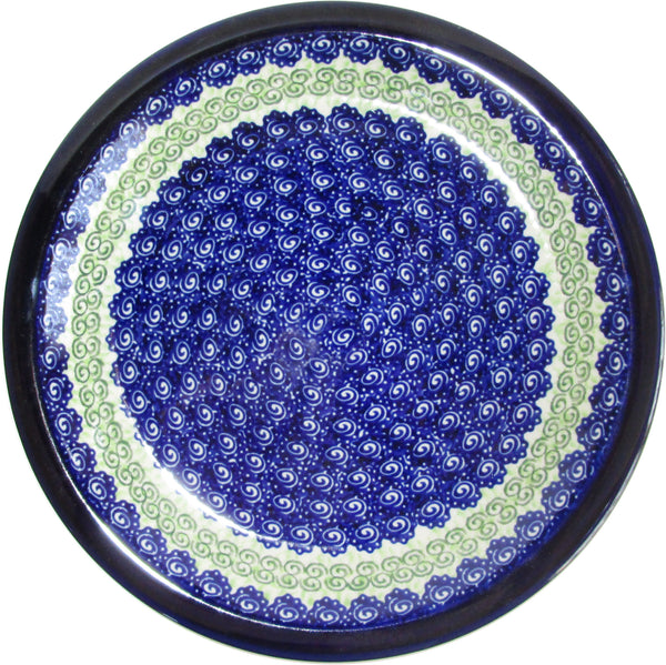 "Boleslawiec Polish Pottery UNIKAT Dinner Serving Plate ""Alex"""