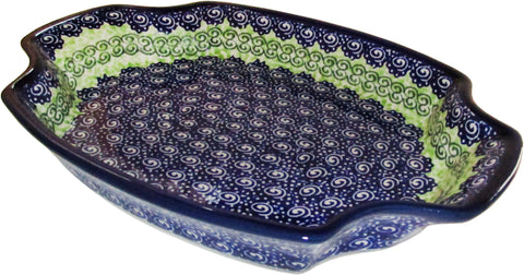 Boleslawiec Polish Pottery Large Fancy Platter
