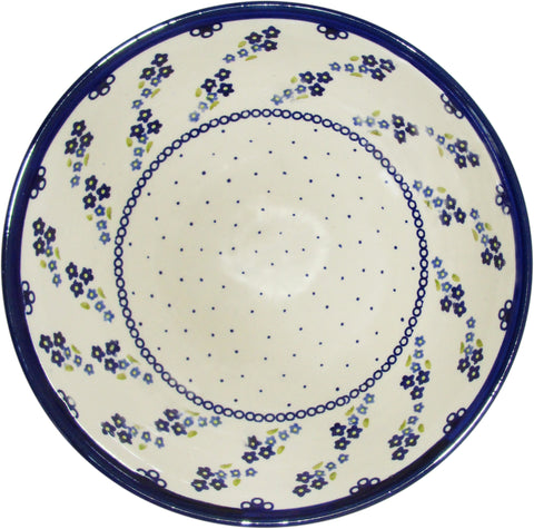 Boleslawiec Polish Pottery UNIKAT Extra Large Serving Bowl