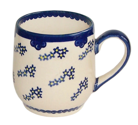 Boleslawiec Polish Pottery UNIKAT 10 Oz Coffee or Tea Ladies Mug