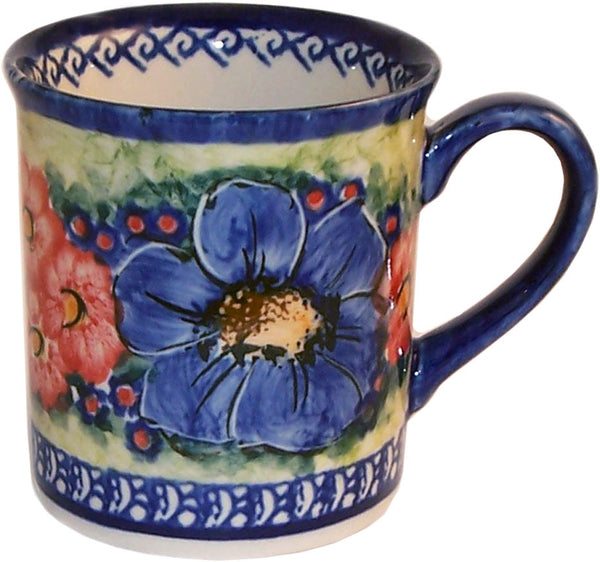 "Boleslawiec Polish Pottery UNIKAT Coffee or Tea Mug ""Isabelle"""