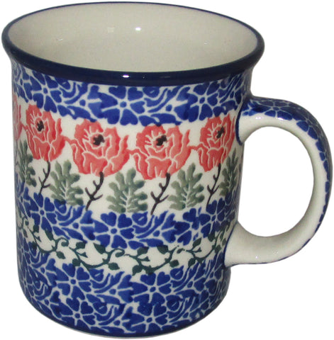 Boleslawiec Polish Pottery 10 oz Coffee or Tea Mug 1393