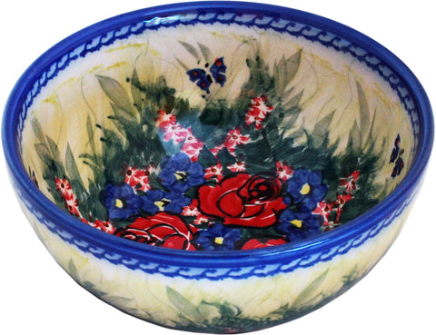 Boleslawiec Polish Pottery UNIKAT Pasta, Soup, Serving or Mixing Bowl