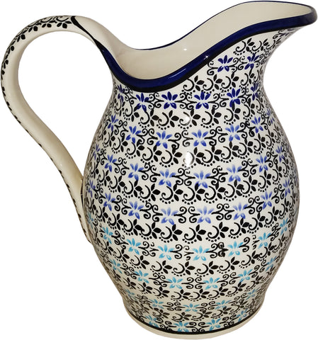 Boleslawiec Polish Pottery UNIKAT Pitcher Water Jug1.7L