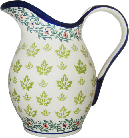 Boleslawiec Polish Pottery UNIKAT Pitcher Water Jug 1.7L