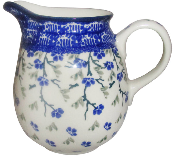 Boleslawiec Polish Pottery 0.5L Pitcher Water or Milk Jug 1823