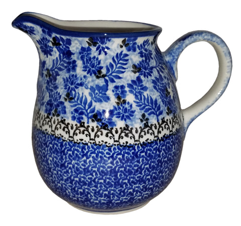 Boleslawiec Polish Pottery 0.5L Pitcher Water or Milk Jug 1976