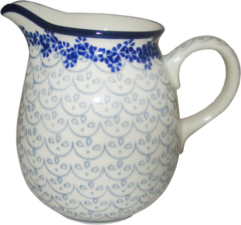 Boleslawiec Polish Pottery  0.5L Pitcher Water or Milk Jug 577