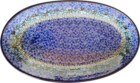 Boleslawiec Polish Pottery UNIKAT Serving Platter 1647
