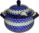 "Boleslawiec Polish Pottery UNIKAT Soup Tureen or Baker 3L ""Alex"""